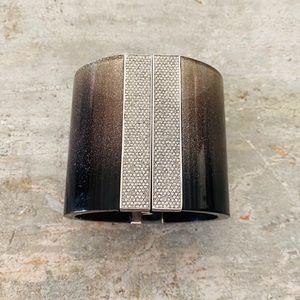 ♥️ Michael Kors ♥️ Black Glitter Bracelet